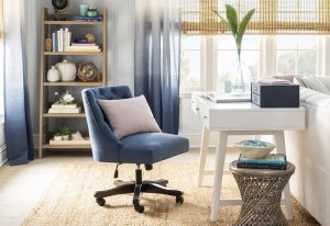 Home Office featuring desk chair and bookcase